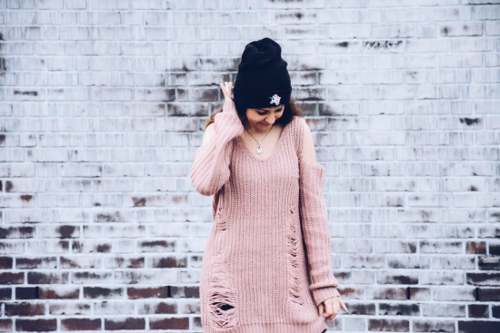Oversize Sweater Romwe