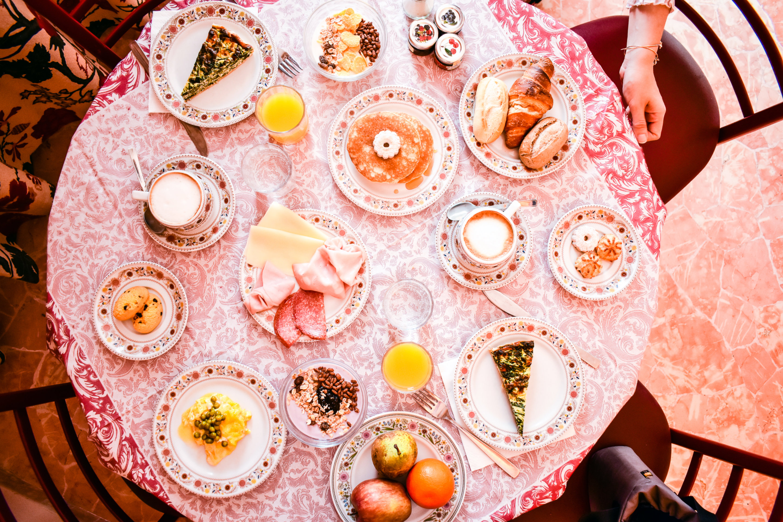 Frühstück in Italien auf Lido