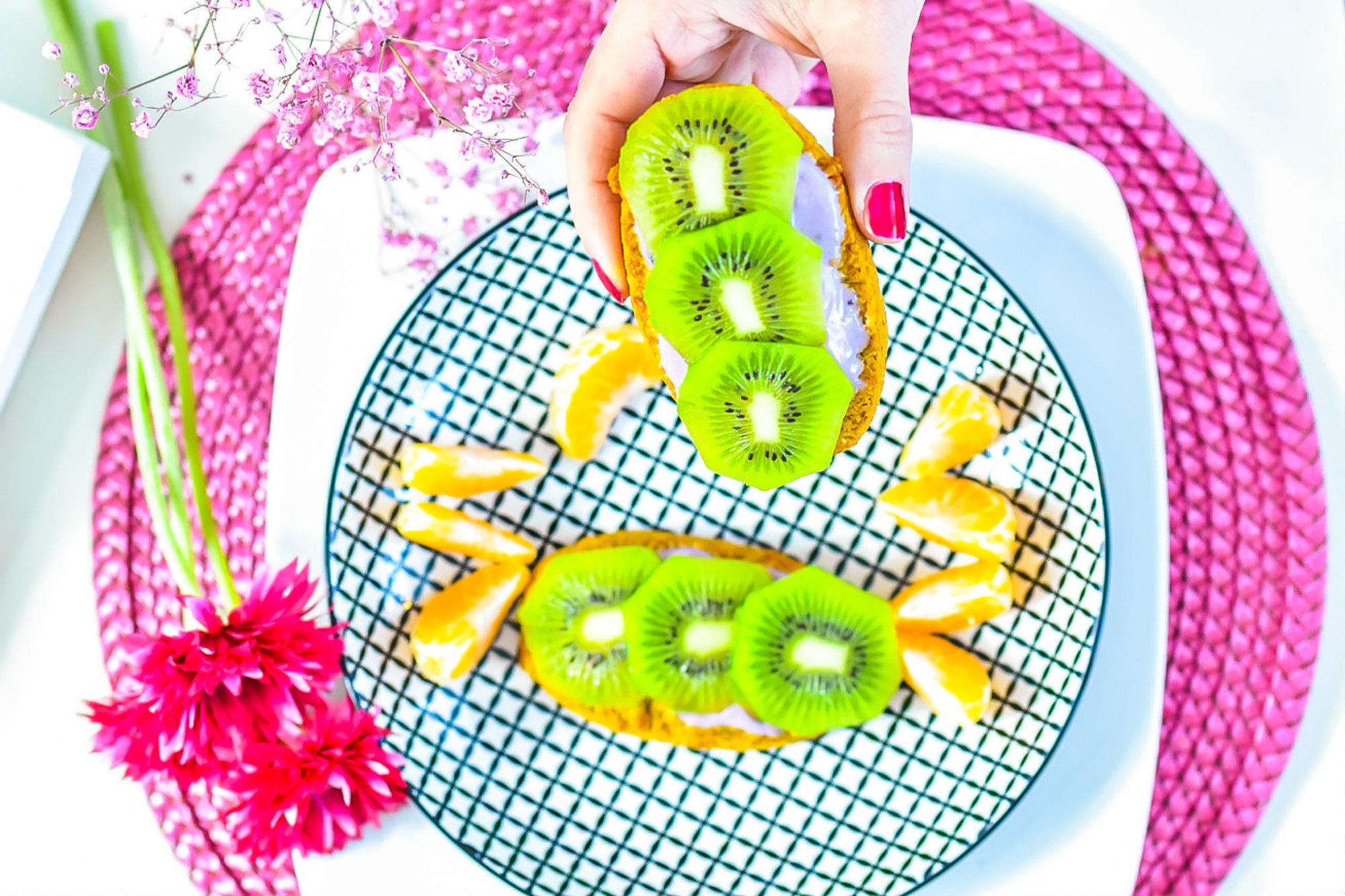 Schnelle einfache Snacks zubereiten mit Früchten