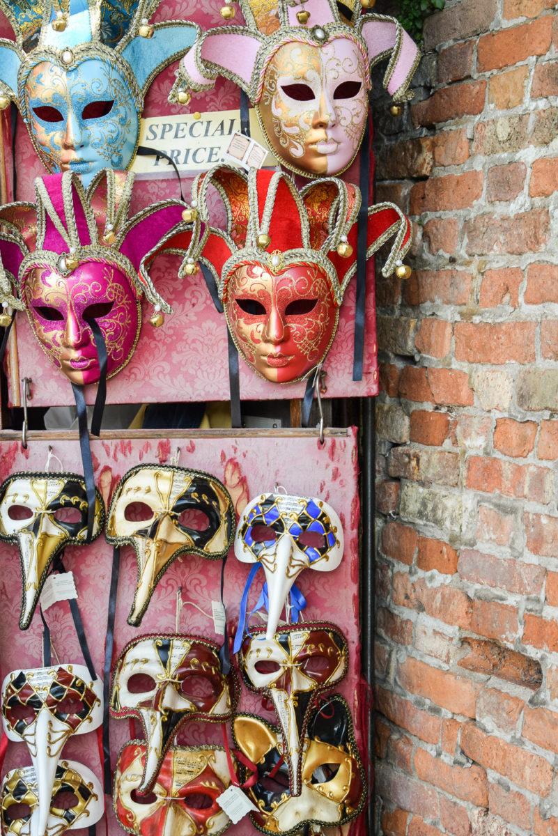 Masken aus Venedig