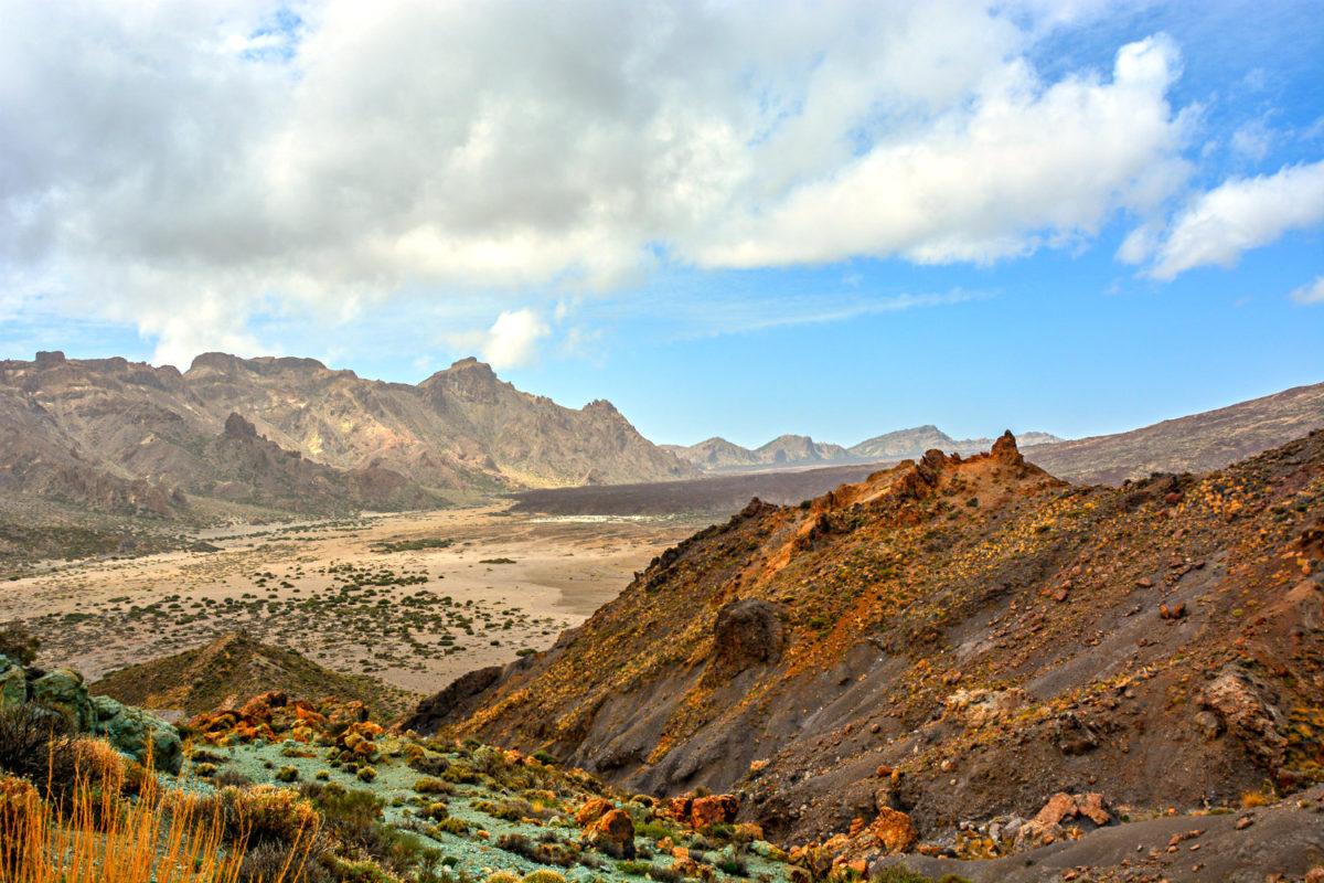 Vulkangebirge von Teneriffa