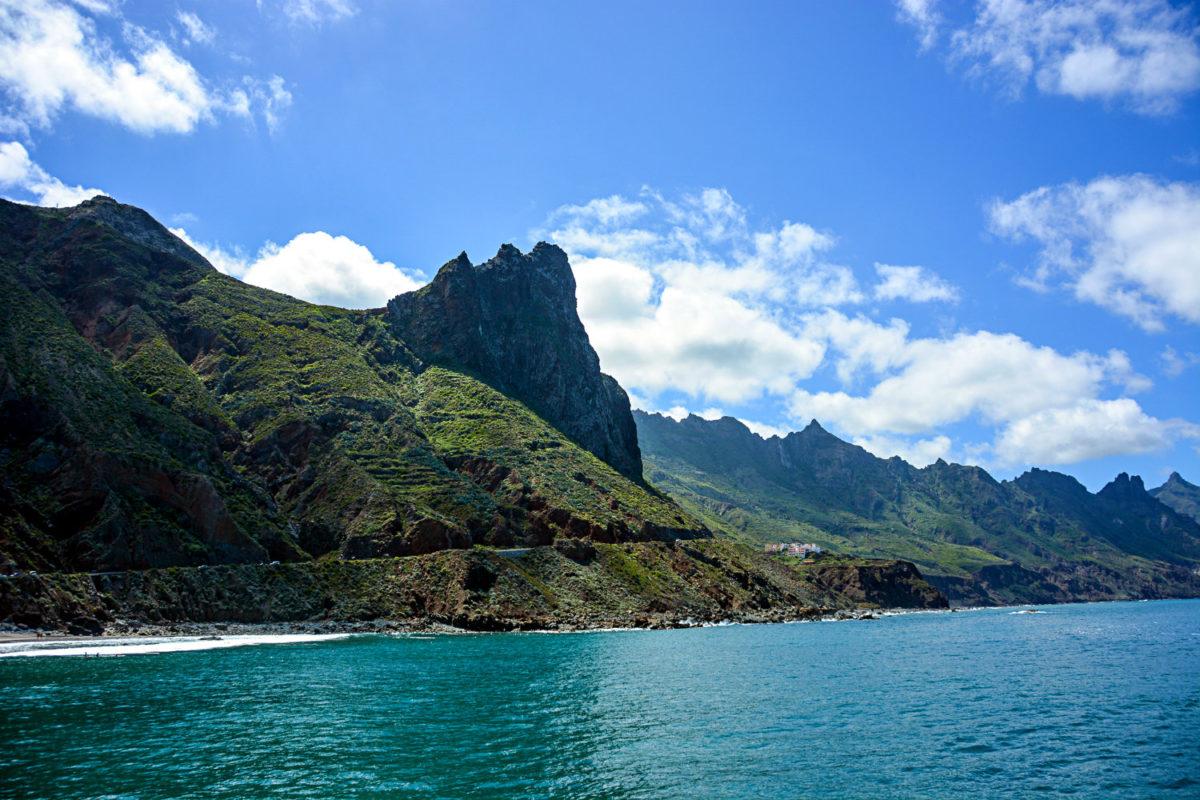 Das Gebirge von Teneriffa