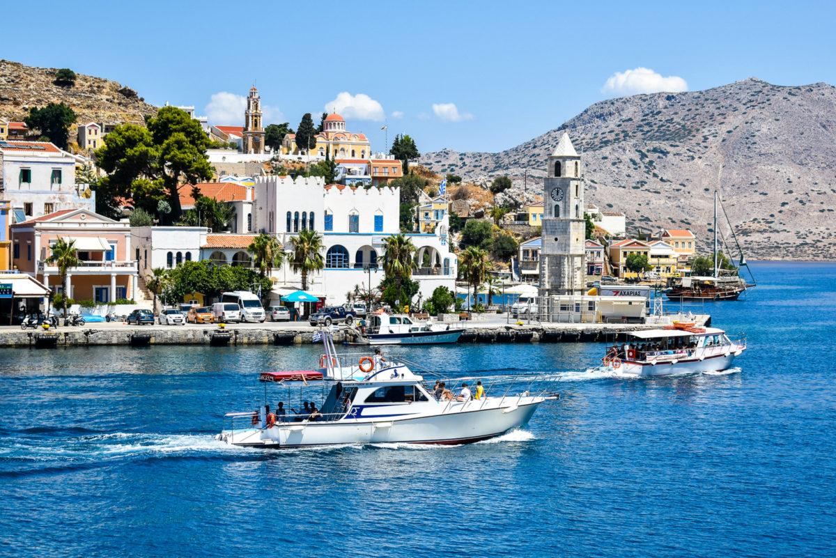 Griechische Insel Simi