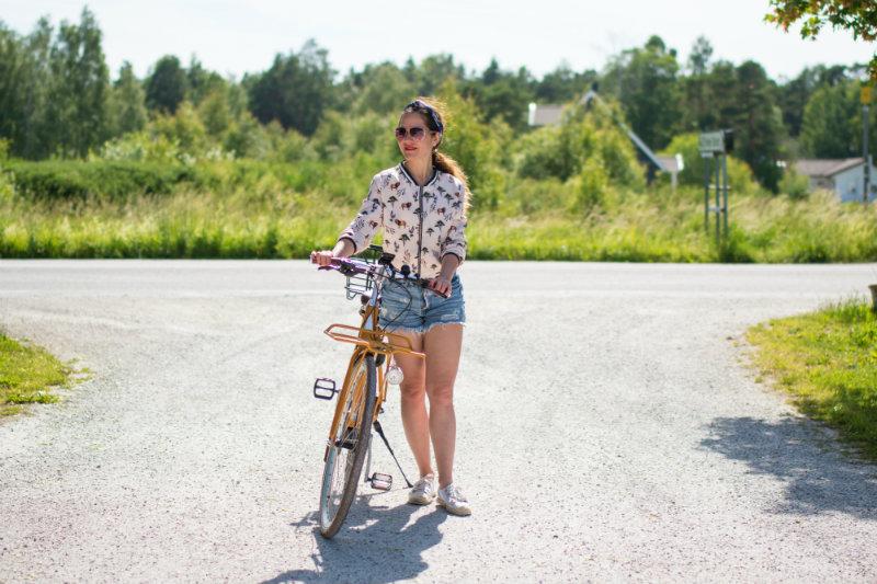 E-Biking auf Gotland