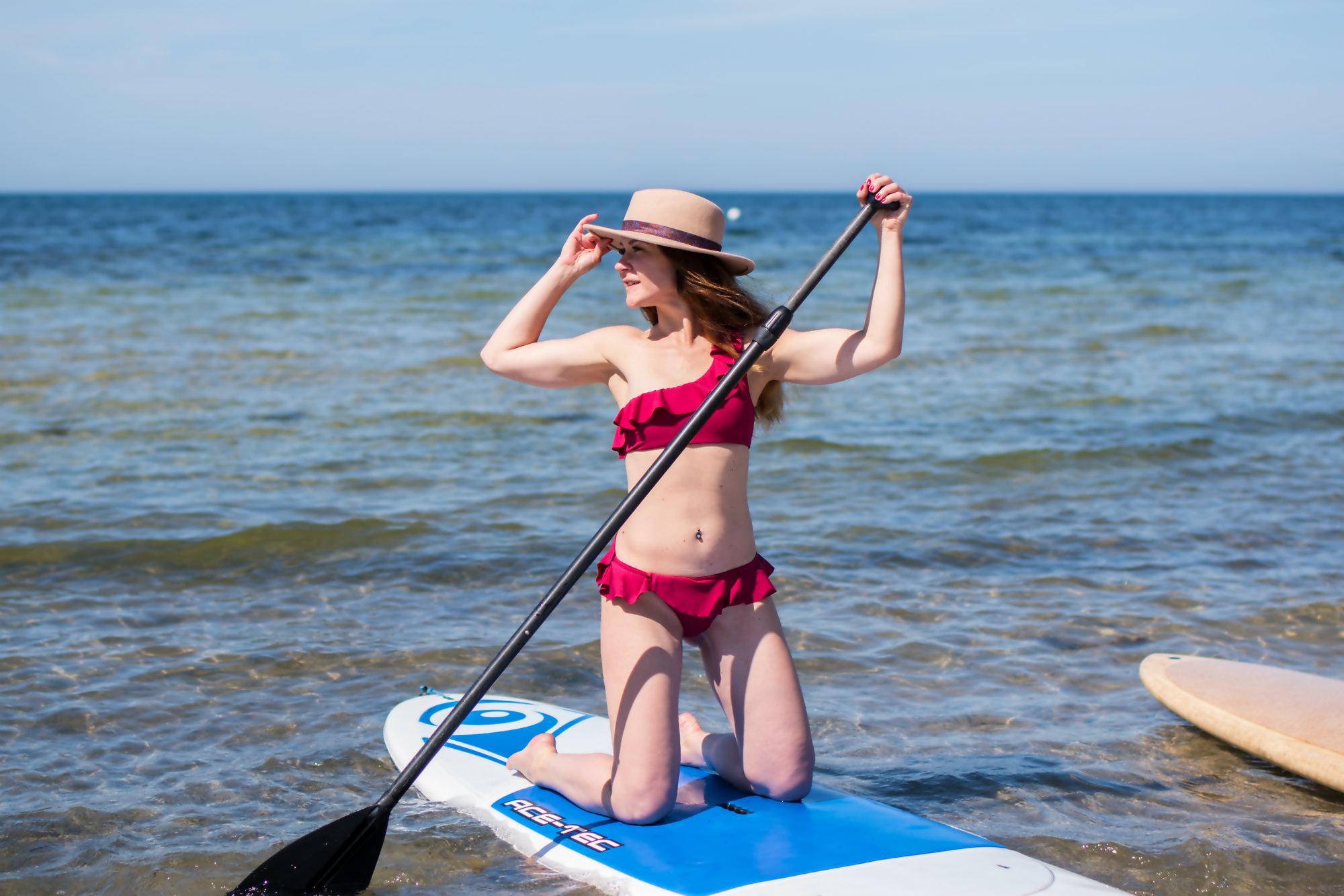 Sport Aktivitäten auf Gotland - Stand Up Paddling