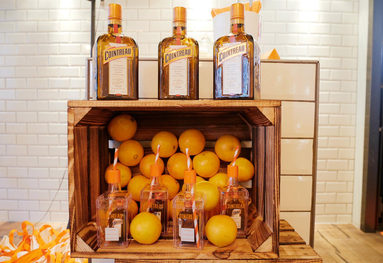 Der Cointreau ist vermutlich der bekannteste von allen Orangenlikören