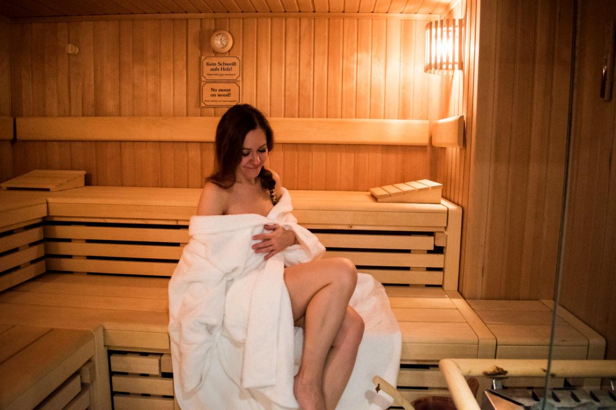 Crowne Plaza Hotel in Hamburg Sauna