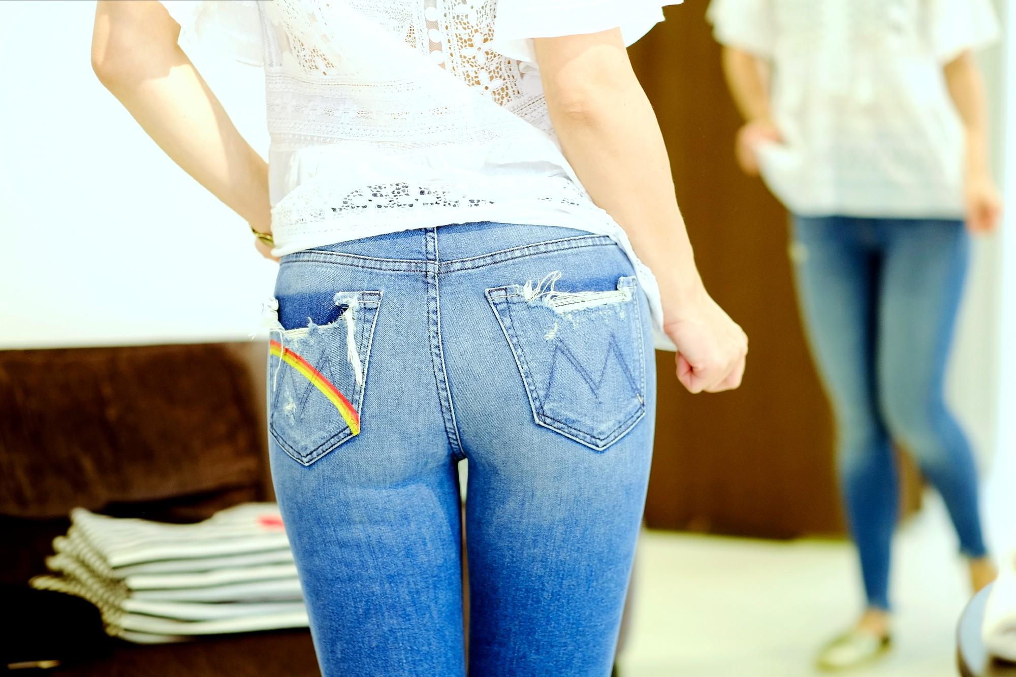 Die Jeans, das Symbol von Freiheit und Rebellion